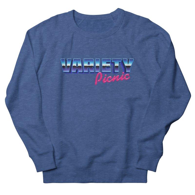 Variety Picnic Retro Logo Women's French Terry Sweatshirt by Variety Picnic