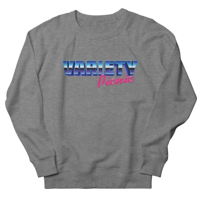 Variety Picnic Retro Logo Men's French Terry Sweatshirt by Variety Picnic