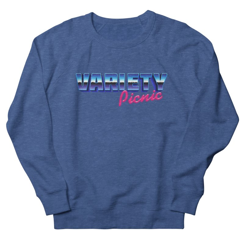 Variety Picnic Retro Logo Men's Sweatshirt by Variety Picnic