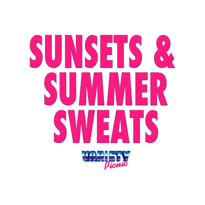 Sunsets & Summer Sweats Men's T-Shirt by Variety Picnic