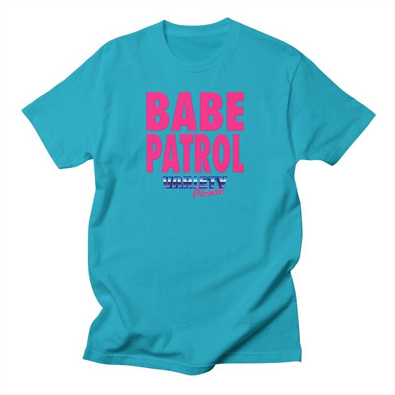 Babe Patrol Men's T-Shirt by Variety Picnic