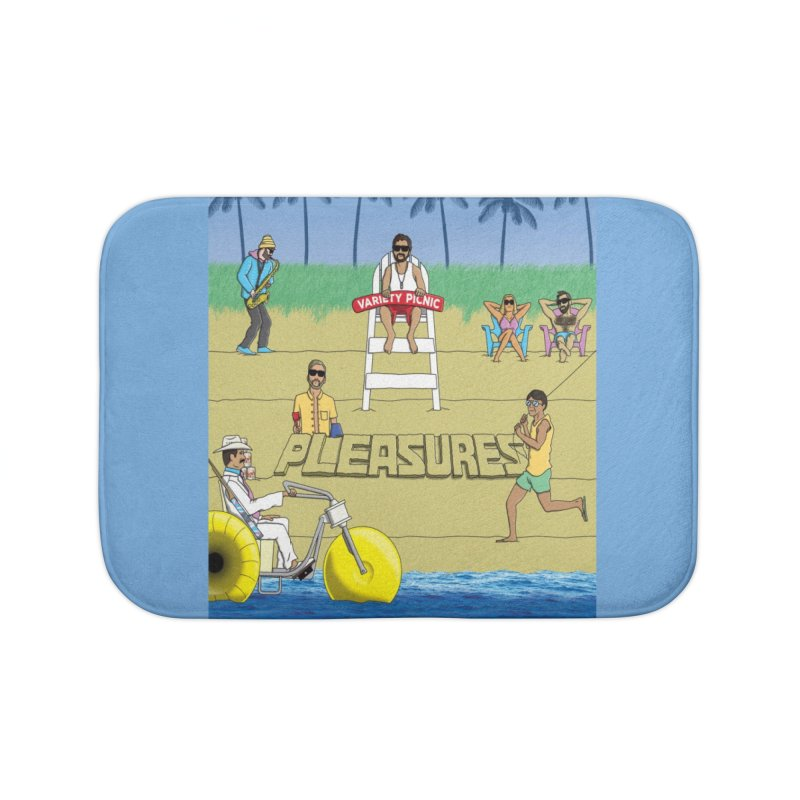 Pleasures Album Cover Home Bath Mat by Variety Picnic