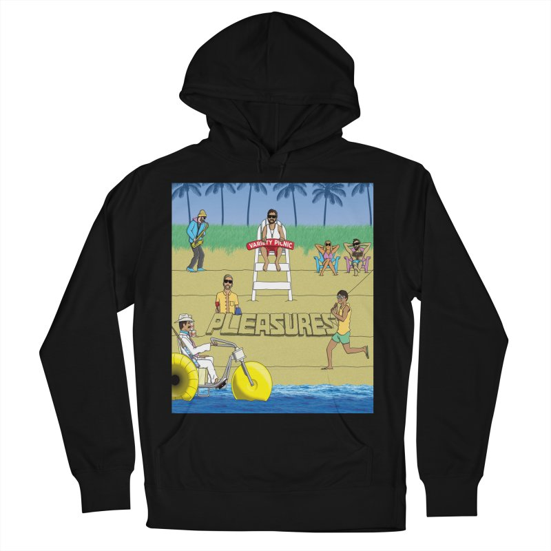 Pleasures Album Cover Women's French Terry Pullover Hoody by Variety Picnic