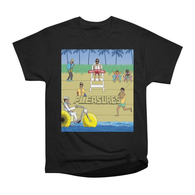 Pleasures Album Cover Men's Heavyweight T-Shirt by Variety Picnic
