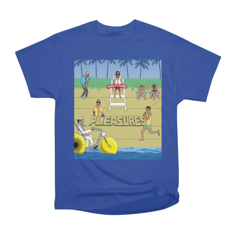 Pleasures Album Cover Men's T-Shirt by Variety Picnic