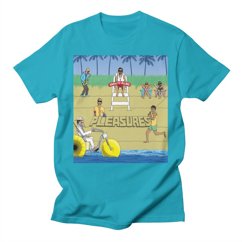 Pleasures Album Cover Men's T-Shirt by Variety Picnic