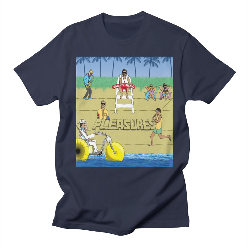 Pleasures Album Cover Women's Regular Unisex T-Shirt by Variety Picnic