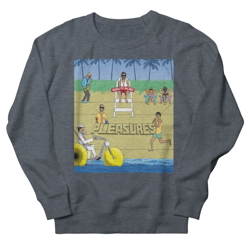 Pleasures Album Cover Women's French Terry Sweatshirt by Variety Picnic