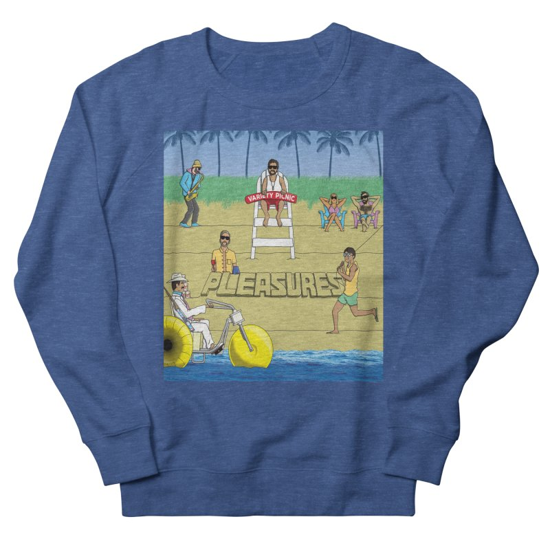 Pleasures Album Cover Men's Sweatshirt by Variety Picnic