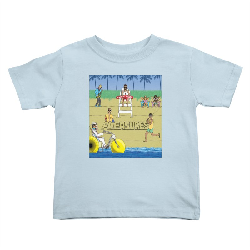 Pleasures Album Cover Kids Toddler T-Shirt by Variety Picnic