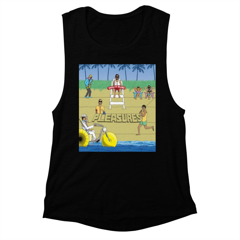 Pleasures Album Cover Women's Muscle Tank by Variety Picnic