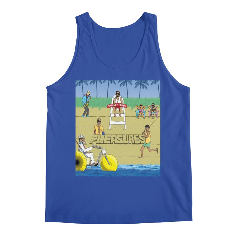 Pleasures Album Cover Men's Tank by Variety Picnic