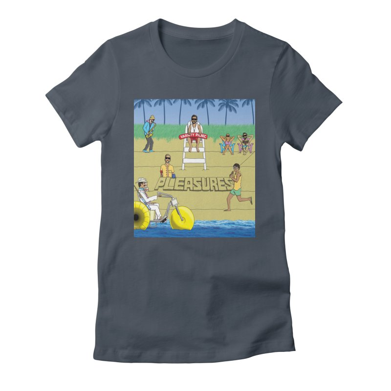Pleasures Album Cover Women's T-Shirt by Variety Picnic