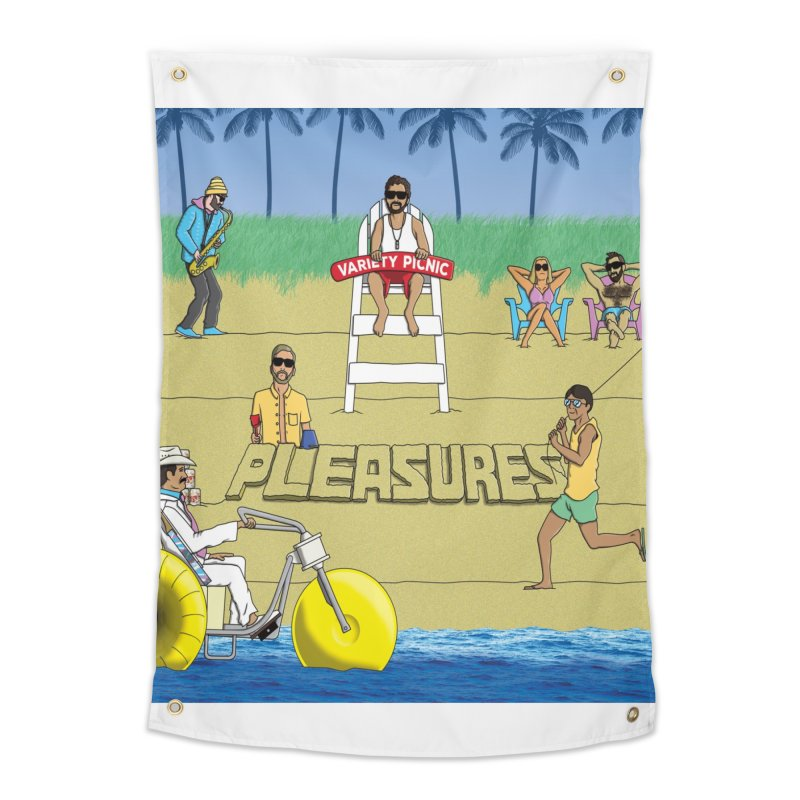 Pleasures Album Cover Home Tapestry by Variety Picnic