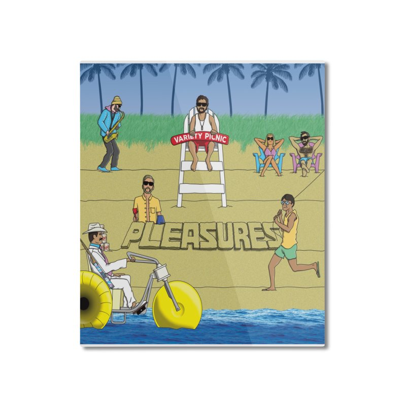 Pleasures Album Cover Home Mounted Aluminum Print by Variety Picnic