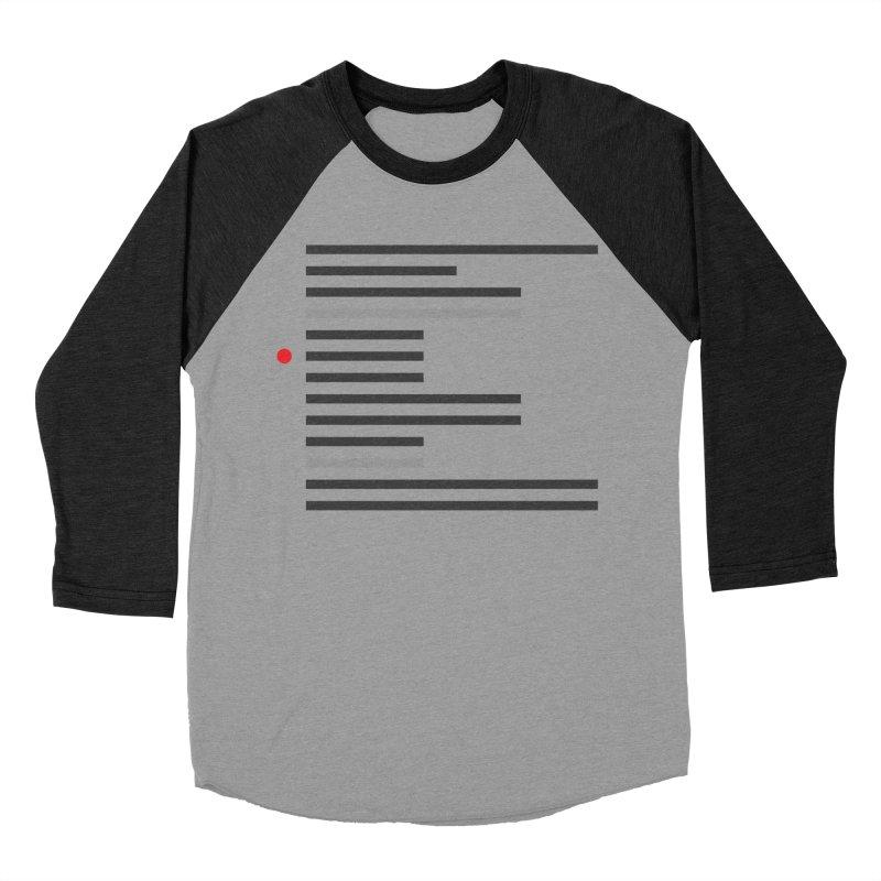 Breakpoint Women's Baseball Triblend Longsleeve T-Shirt by Var x Apparel
