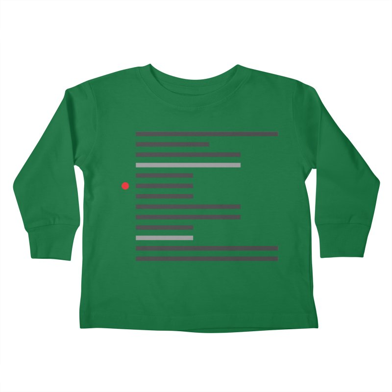Breakpoint Kids Toddler Longsleeve T-Shirt by Var x Apparel