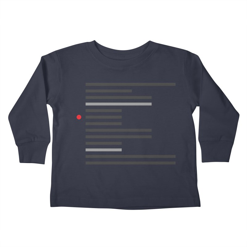 Breakpoint Kids Toddler Longsleeve T-Shirt by Var x Apparel