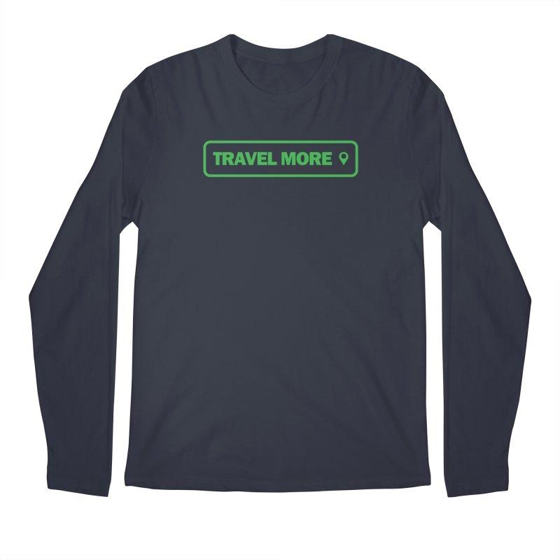 Travel More Men's Regular Longsleeve T-Shirt by Var x Apparel