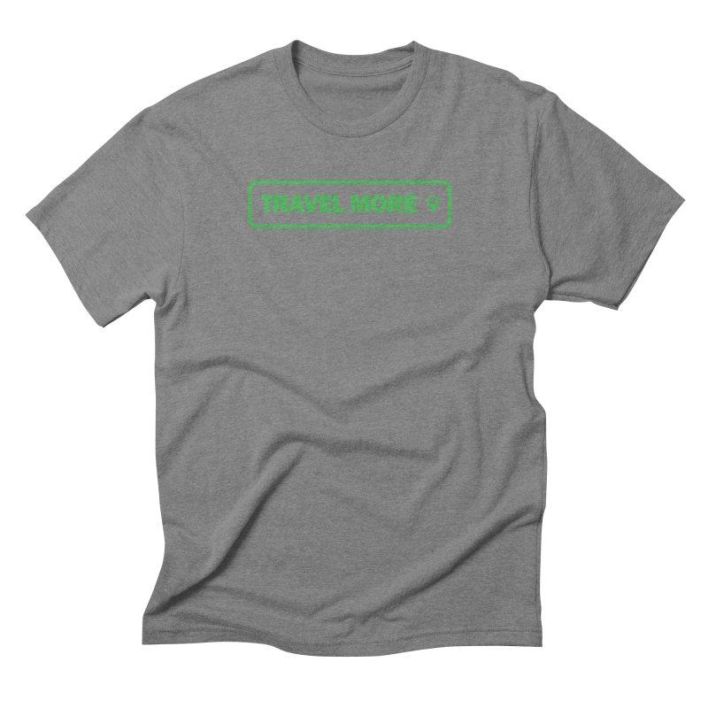 Travel More Men's T-Shirt by Var x Apparel