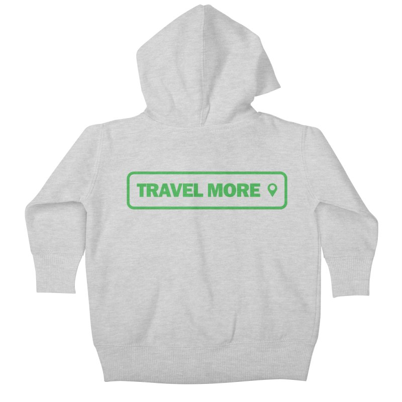 Travel More Kids Baby Zip-Up Hoody by Var x Apparel