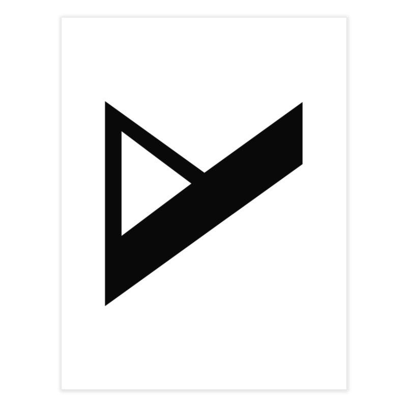 Var X Logo Home Fine Art Print by Var x Apparel