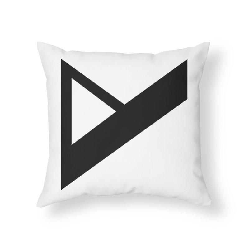 Var X Logo Home Throw Pillow by Var x Apparel