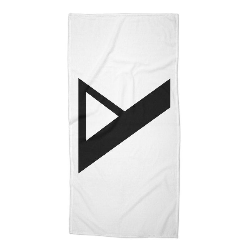Var X Logo Accessories Beach Towel by Var x Apparel