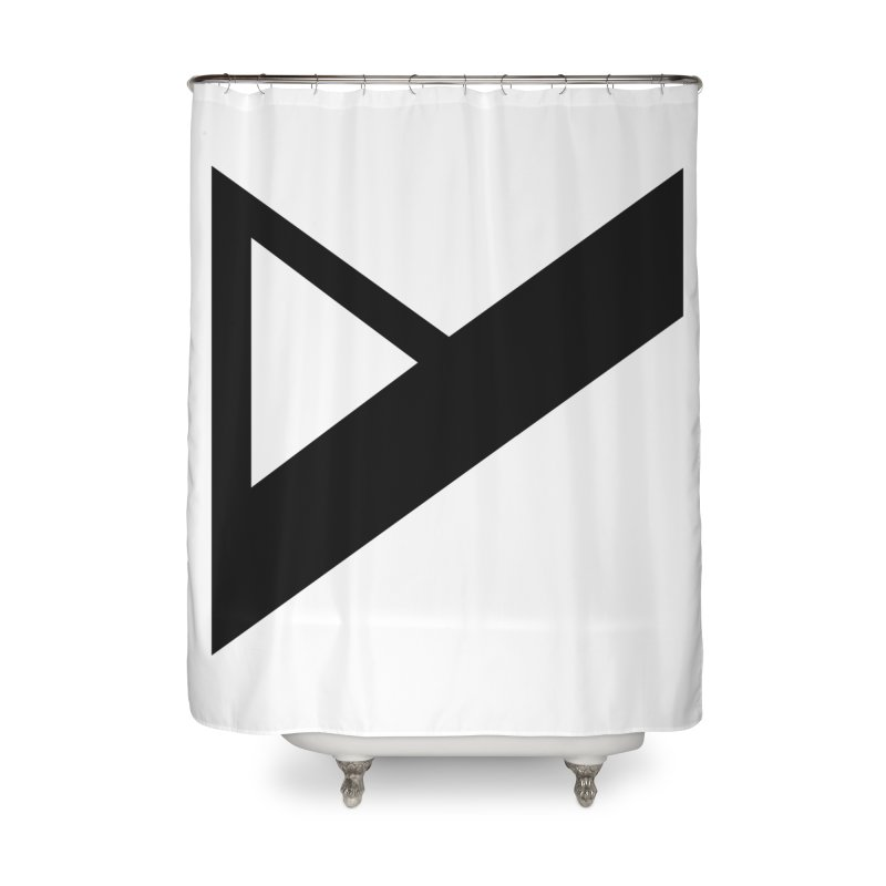 Var X Logo Home Shower Curtain by Var x Apparel