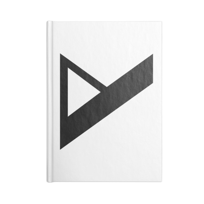 Var X Logo Accessories Lined Journal Notebook by Var x Apparel