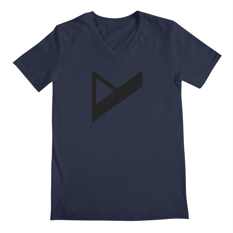 Var X Logo Men's Regular V-Neck by Var x Apparel