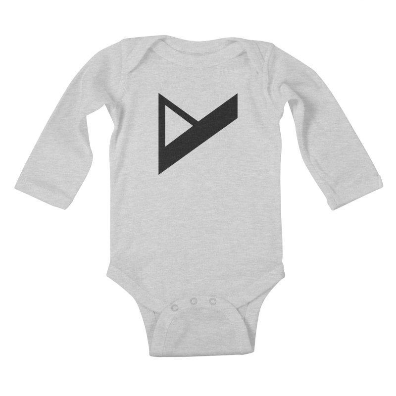 Var X Logo Kids Baby Longsleeve Bodysuit by Var x Apparel