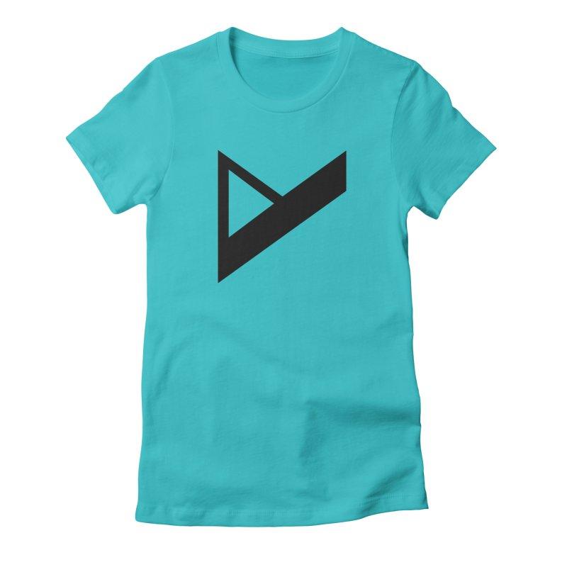 Var X Logo Women's Fitted T-Shirt by Var x Apparel