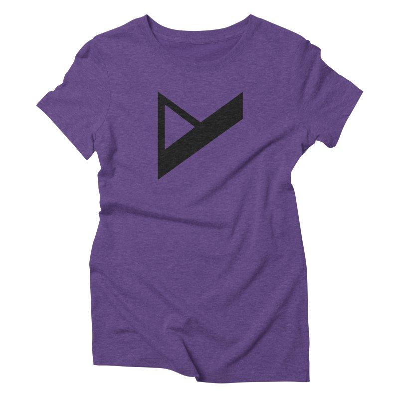 Var X Logo Women's Triblend T-Shirt by Var x Apparel