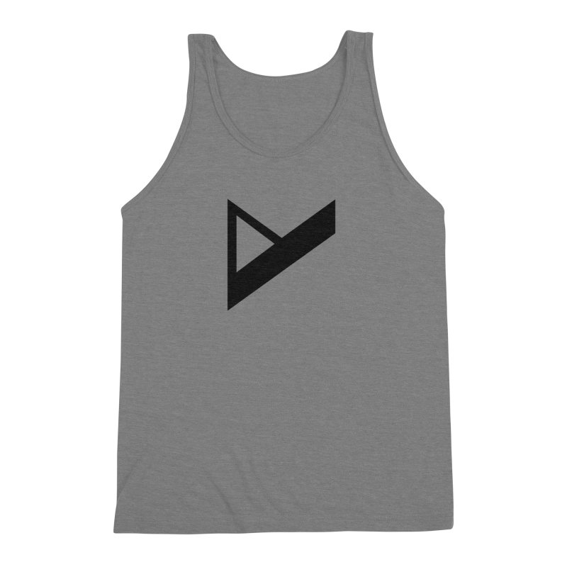 Var X Logo Men's Triblend Tank by Var x Apparel