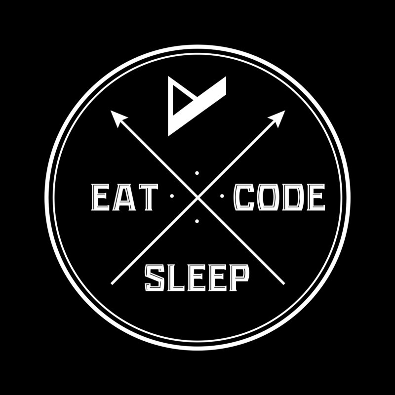 Eat. Sleep. Code. Repeat. Women's T-Shirt by Var x Apparel