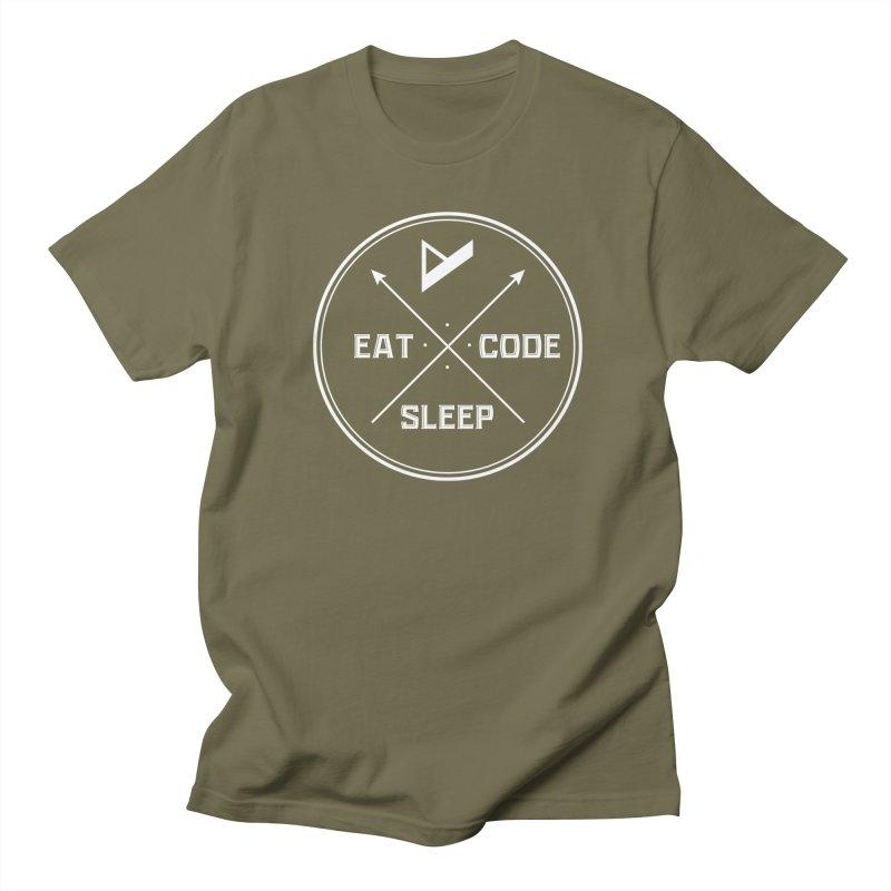 Eat. Sleep. Code. Repeat. Women's T-Shirt by Var x Apparel
