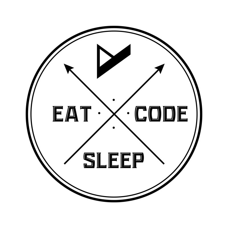 Eat. Sleep. Code. Repeat. Home Blanket by Var x Apparel