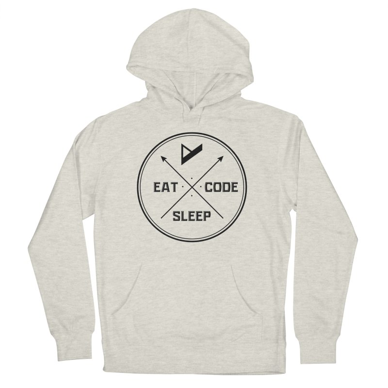 Eat. Sleep. Code. Repeat. Women's French Terry Pullover Hoody by Var x Apparel