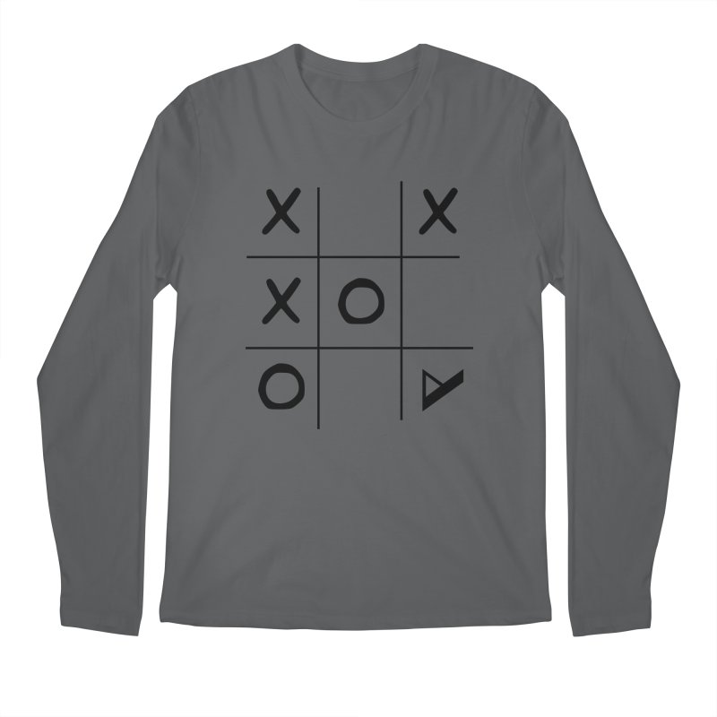 Tic Tac Toe Men's Longsleeve T-Shirt by Var x Apparel