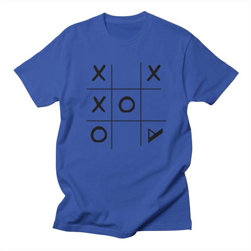 Tic Tac Toe Women's Regular Unisex T-Shirt by Var x Apparel