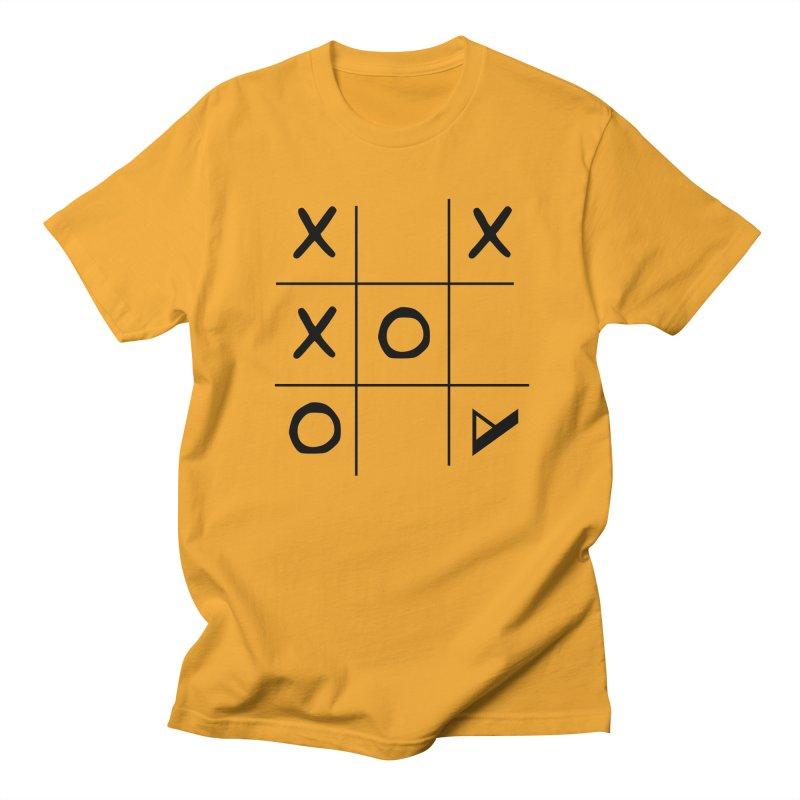 Tic Tac Toe Men's Regular T-Shirt by Var x Apparel