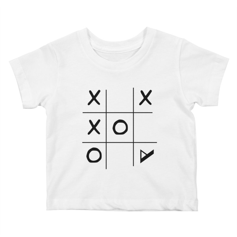 Tic Tac Toe Kids Baby T-Shirt by Var x Apparel