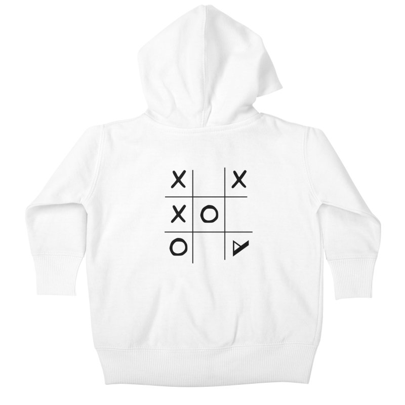 Tic Tac Toe Kids Baby Zip-Up Hoody by Var x Apparel
