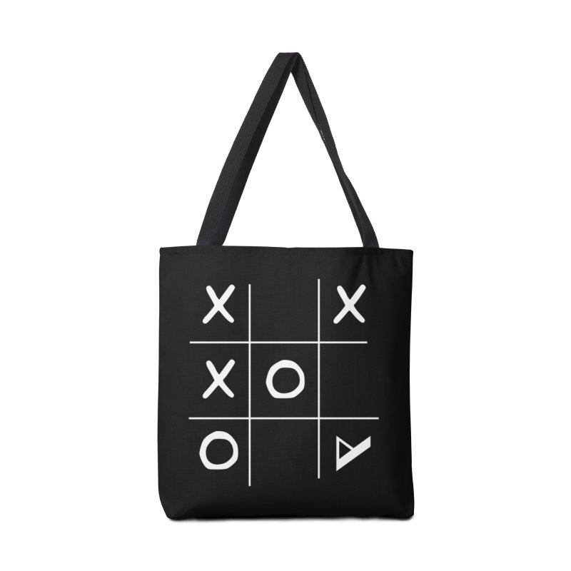 Tic Tac Toe Accessories Tote Bag Bag by Var x Apparel