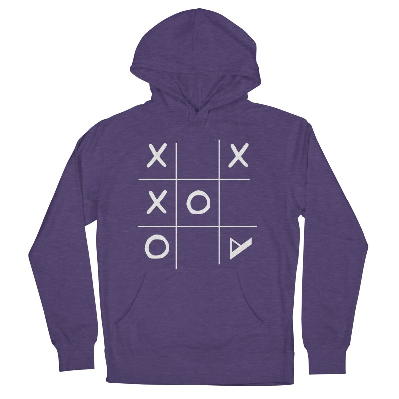 Tic Tac Toe Men's French Terry Pullover Hoody by Var x Apparel