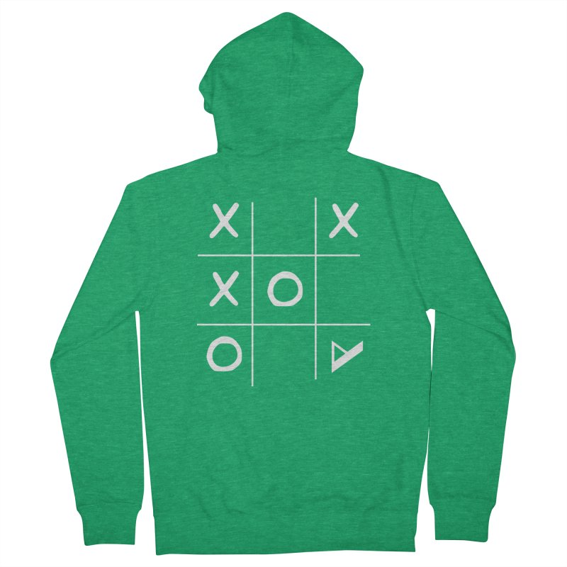 Tic Tac Toe Men's Zip-Up Hoody by Var x Apparel