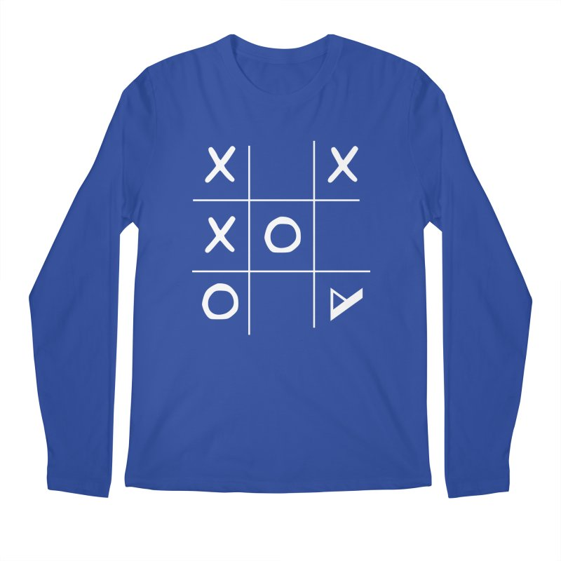 Tic Tac Toe Men's Regular Longsleeve T-Shirt by Var x Apparel