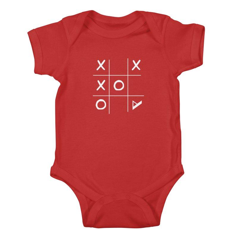 Tic Tac Toe Kids Baby Bodysuit by Var x Apparel
