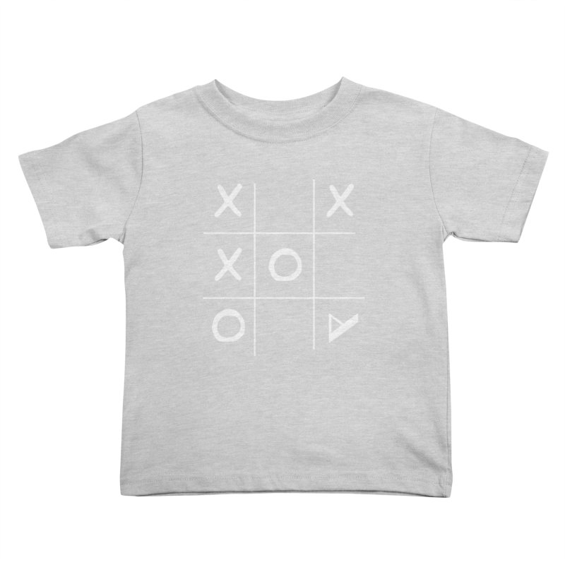 Tic Tac Toe Kids Toddler T-Shirt by Var x Apparel
